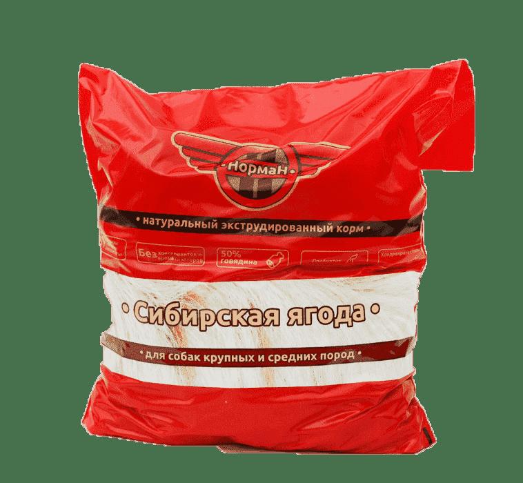 Сибирская ягода для крупных и средних пород